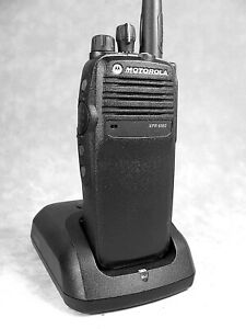 Mint Motorola Xpr6350 Vhf Mototrbo Portable Radio W accessories