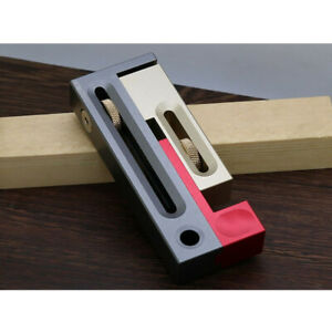 Stainless Steel Saw Slot Mortise And Tenon Joint Gauge Woodworking Tool