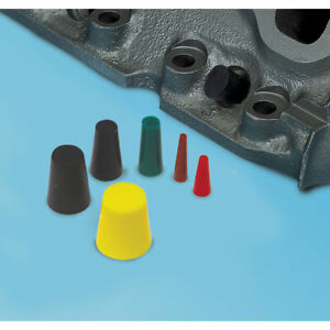 Eastwood 30 Pieces High Temperature Silicone Rubber Plugs For Powder Coating
