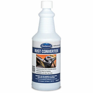 Eastwood Rust Practical Converter 1 Quart Stops Residual Rust Paintable Surface