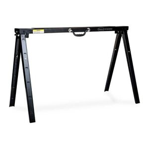 Eastwood Heavy Duty Powder Coated Steel Height Adjustable Metal Saw Horse 1500lb