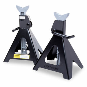 Eastwood 2 Jack Stands Heavy Duty Steel Constructed Frame Set 6 Ton Capacity