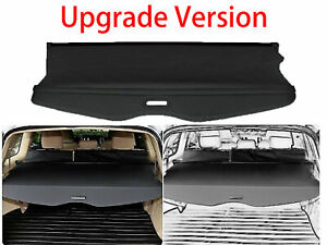 For 2008 2013 Toyota Highlander Cargo Cover Trunk Security Shade Luggage Shield