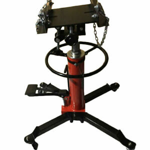 A 1500 Lbs Transmission Jack 2 Stage Hydraulic W 360 For Car Lift Auto Lift