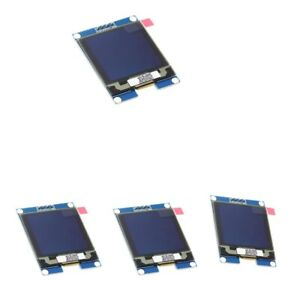 4pc 1 5 I2c Oled Module Driver Chip 128x128 Communication Support For Uno