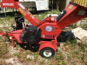 Morbark 2050 Wood Chipper Tow Able Only 34hours Use