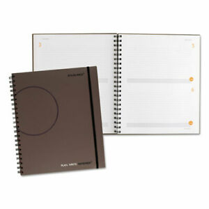 Plan Write Remember Planning Notebook Two Days Per Page 11 X 8 3 8 Gray