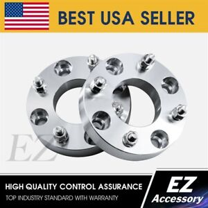 2 Wheel Adapters Atv 4x156 To 5 Lug 114 3 5x4 5 Spacers 1 Thick