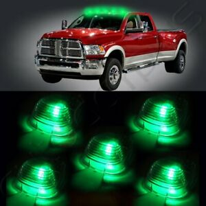 5x Top Clear Cab Roof Marker Running Lamps 5x12v T10 6smd Led Lights For Truck