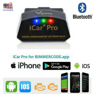 Vgate Icar Pro Bluetooth 4 0 Obd2 Bimmercode Bmw Coding For Iphone Ipad Android