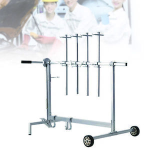 Automotive Spray Painting Rack Stand Auto Body Shop Paint Hold Hoods Tailgates