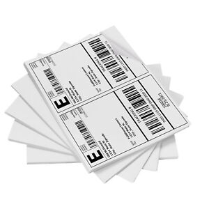 200 Premium Self Adhesive Shipping Labels 8 5 x5 5 100 Sheets Sticky