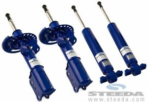 Steeda Pro Action Struts And Shocks For 2015 17 Ford Mustang