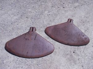 Farmall H Sh M Mta Mv Sm 300 450 400 Tractor Match Set Pair Original Ih Fenders