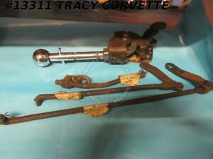 1964 1967 Corvette Shifter Assembly 4 Speed With Linkage Gm Original 1965 1966