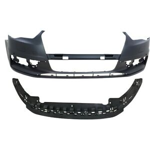 New Bumper Cover Facial Kit Front Au1000219 Au1091102 8v5807065bgru 8v5807233