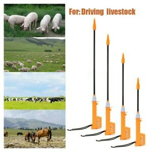 Electric Livestock Cattle Cow Pig Prod Electric Shock Handle Swine Detection Us