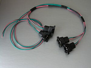 85 95 Tpi Lt1 Camaro Corvette Fuel Injector Connector Wiring Harness Assembly Lh