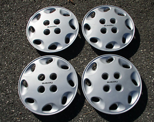 Factory 1989 To 1995 Subaru Justy 13 Inch Hubcaps Wheel Covers