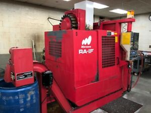 Used Matsuura Ra 1f Cnc Vertical Mill 1995 15000 Rpm Pallet Changer Chip