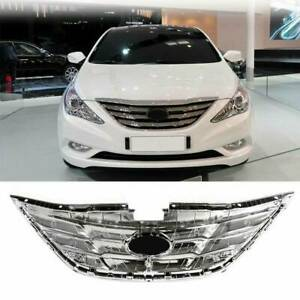 For 2011 2013 Hyundai Sonata Grille Assembly 23334qg 2012 Front Grill Chrome 11