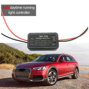 Car Led Daytime Running Light Automatic On Off Controller Module Drl Relay