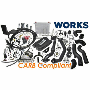 Works Stage 2 Turbo Charger Kit W Carb Tune For Subaru Brz Scion Fr S Automatic
