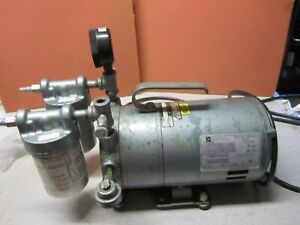 Gast 0522 v4b g18dx Rotary Vane Vacuum Pump For Parts