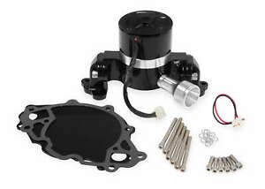 Frostbite Aluminum Sbf 35gpm Electric Water Pump Polished For Small Block Chevy