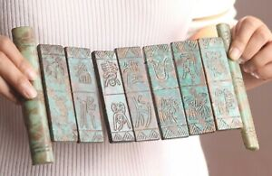 Chinese Old Natural Jade Hand Carved Statue Jade Folding Book 10 2 Inch