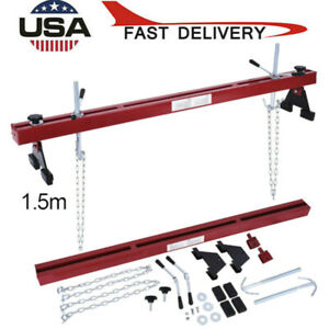Engine Load Leveler 1100lbs Capacity Support Bar Transmission With Dual Hook A