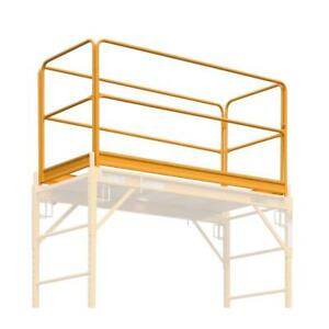 Metaltech Scaffold Guardrail System 6 Ft X 2 5 Ft X 3 4 Ft 1000 Lb Capacity