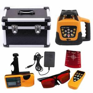 Red Automatic Self Levelling Rotating Laser Level Rotary Laser 500m Range Ip 54