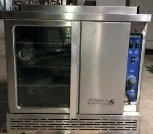 Full Size Propane Convection Oven On Casters