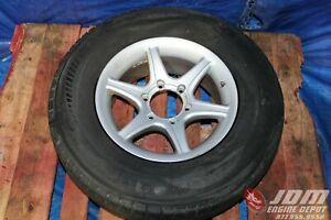 Jdm Kosei 16x7 25 6 Lug With 245 75 16 Light Truck Tires