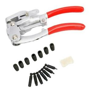 Metal Hole Punch Kit Hand Held Power Punch For Steel Sheet Metal Leather Pvc
