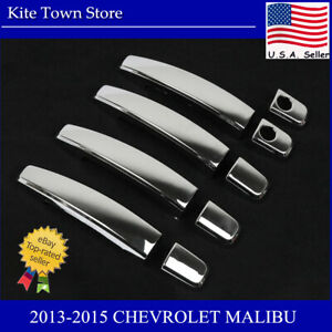 9pc Chrome Door Handle Cover For 2013 2014 2015 Chevrolet Malibu 2010 2015 Cruze