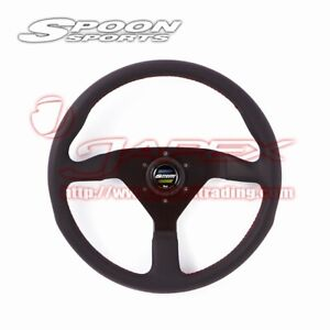 Spoon Sports Momo Leather Steering Wheel For Honda Universal All 78500 000