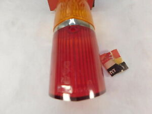 Triumph Herald Viesse Tail Lamp Lens Amber Red Uk Spec Lucas 54580555 L759 Nos
