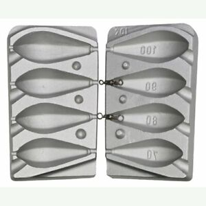 Hex Lead Mold fishing weight Bomb 70 80 90 100g mould carp molds $34.00