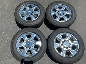 2019 Chevy Hd2500 Hd 2500 Factory 20 Wheels Tires Oem Rims 5803 Polished Gmc