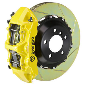 Brembo Bbk For 08 10 Challenger W v8 Engine Excl Front 6pot Yellow 1m2 8027a5