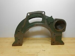Nos Iron 8600178 131 Flathead Engine Bell Housing Ford Tractor Trans Adapt