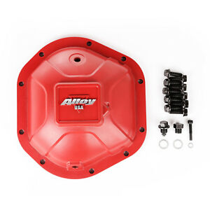 Differential Cover Aluminum Red For Jeep Yj Tj Jk Wrangler Dana 44 X 11212
