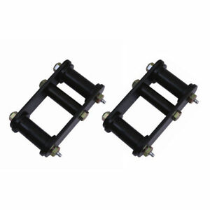 For Jeep Wrangler Yj 87 95 Front Greaseable Shackle Pair X 18265 15