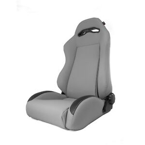 Sport Seat Front Reclinable Gray 1984 To 2001 For Jeep Cherokee Xj X 13447 09
