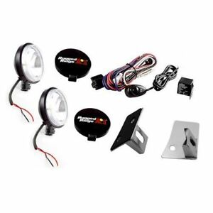 Windshield Light Mount Kit With 100w Fog For Jeep 07 17 Wrangler Jk X 12496 07