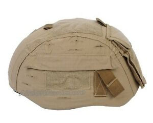 Emerson Tactical Helmet Cover Coyote Brown for MICH TC-2002 ACH Airsoft Hunting