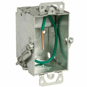 Hubbell raco 523s Stab it 3 X 2 In Metal Switch Electrical Box 20 Pack