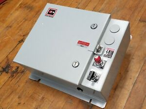 Cutler Hammer Ecl03c8aba Industrial Lighting Electrical Enclosure Empty Switch